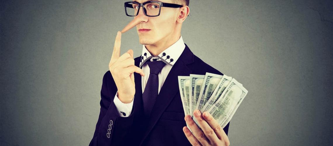 fraudulent real estate agent